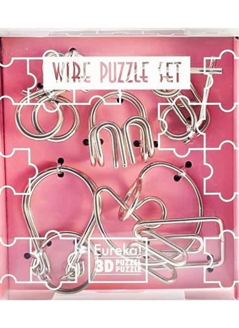 Educa Eureka Wire Puzzle Set- Pink Renkli